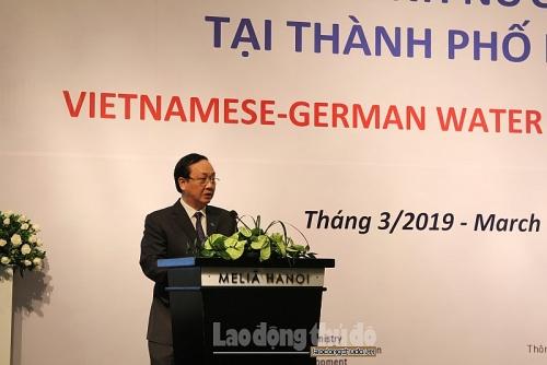 Các doanh nghiệp Đức - Việt thảo luận về cơ hội hợp tác trong ngành nước