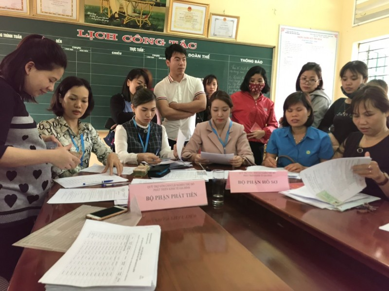 Gần 100 đoàn viên công đoàn, người lao động huyện Hoài Đức hưởng lợi từ Quỹ trợ vốn