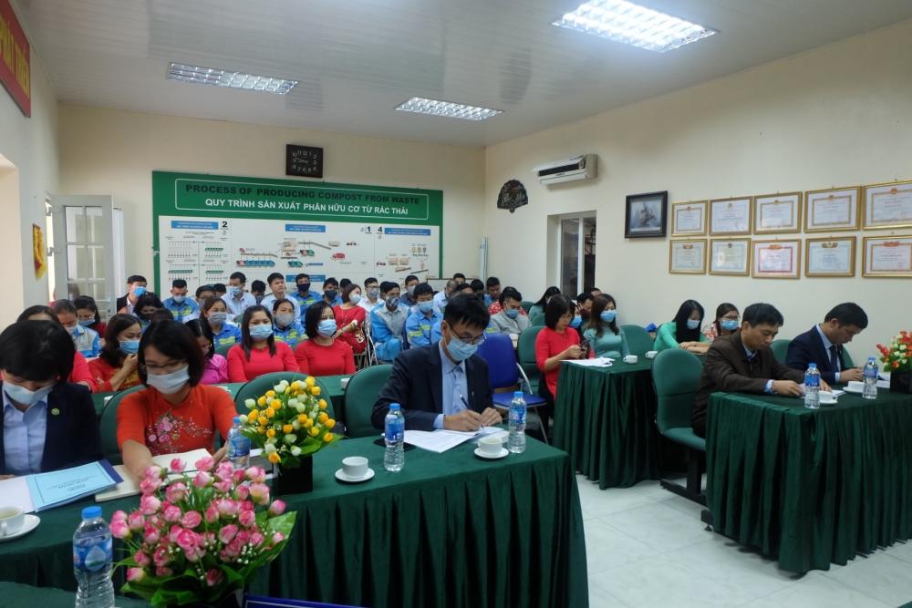 Urenco 7 tổ chức Hội nghị đại biểu người lao động năm 2021