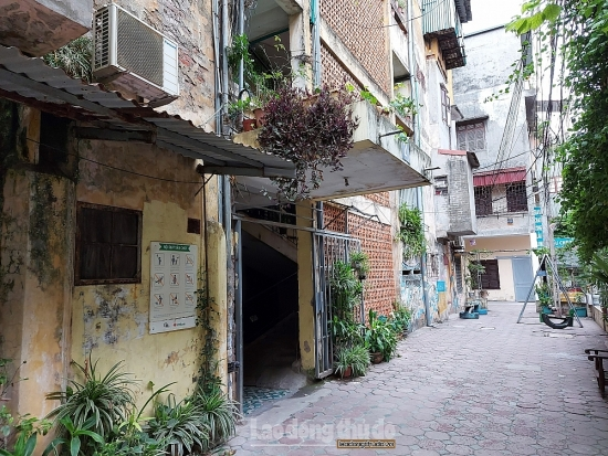 Hà Nội thúc tiến độ cải tạo, xây dựng lại chung cư cũ