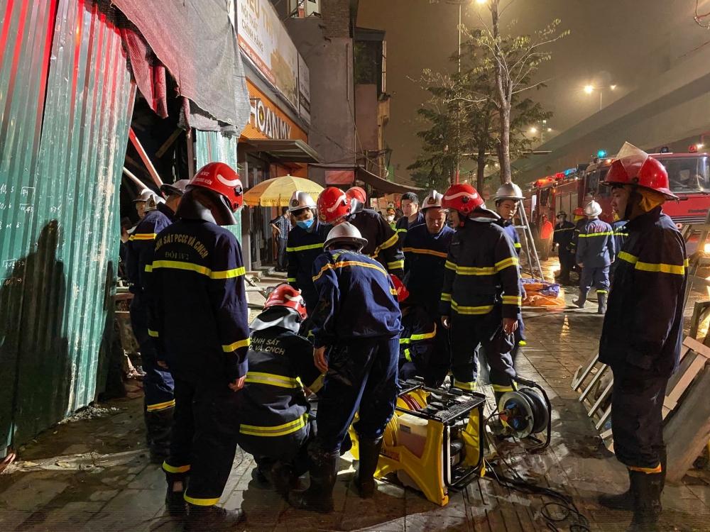 Hà Nội: Công trình xảy ra sự cố sập giàn giáo chưa được cấp Giấy phép xây dựng
