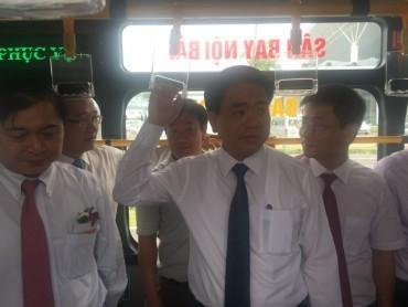 Vận hành tuyến buýt chất lượng cao đầu tiên của thành phố