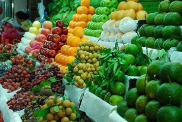520 cửa hàng kinh doanh trái cây được gắn biển nhận diện