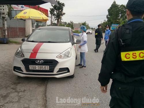 Hà Nội: Phát huy hiệu quả từ các chốt kiểm dịch Y tế nơi cửa ngõ thành phố