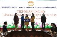 Tuổi trẻ Khối các cơ quan thành phố Hà Nội chung tay phòng chống dịch Covid-19