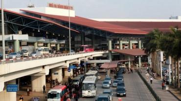 Chập tủ điện gây cháy tại sân bay Nội Bài