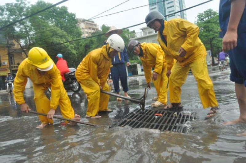 Đảm bảo thoát nước mùa mưa