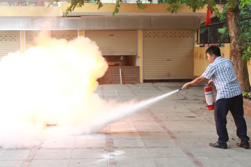 Hà Nội đẩy mạnh công tác tập huấn phòng cháy, chữa cháy.
