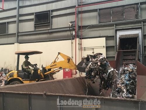 Cần đẩy nhanh tiến độ các nhà máy xử lý rác thải tại Hà Nội