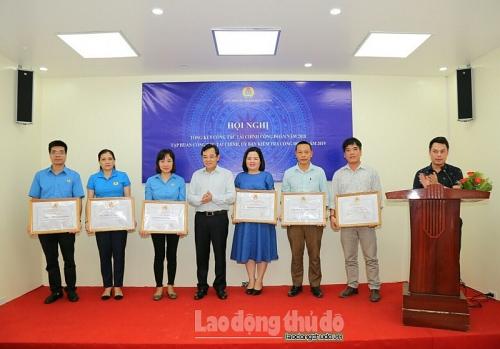Công đoàn ngành Xây dựng Hà Nội tập huấn công tác tài chính công đoàn