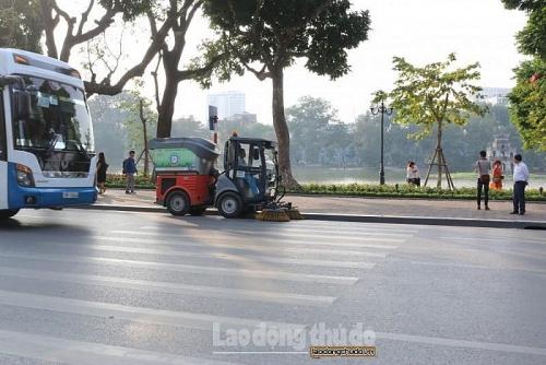 Urenco Hà Nội thu gom hơn 4200 tấn rác trong dịp nghỉ lễ 30/4 - 1/5