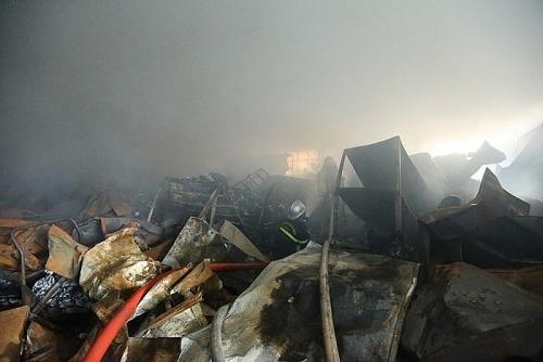 Ba người thiệt mạng trong vụ cháy tại khu công nghiệp Phú Thị, huyện Gia Lâm