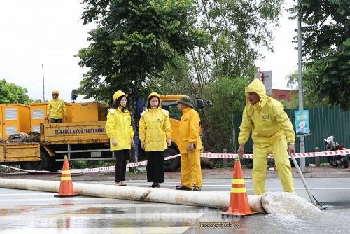 Hà Nội: Phát huy thế mạnh công nghệ trong phòng chống mưa bão, úng ngập