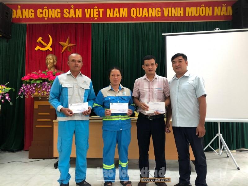 Urenco 7 vinh dự nhận Cờ thi đua của Thành phố Hà Nội