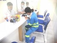 Hàng nghìn cán bộ, công nhân viên Urenco Hà Nội được khám sức khỏe định kỳ