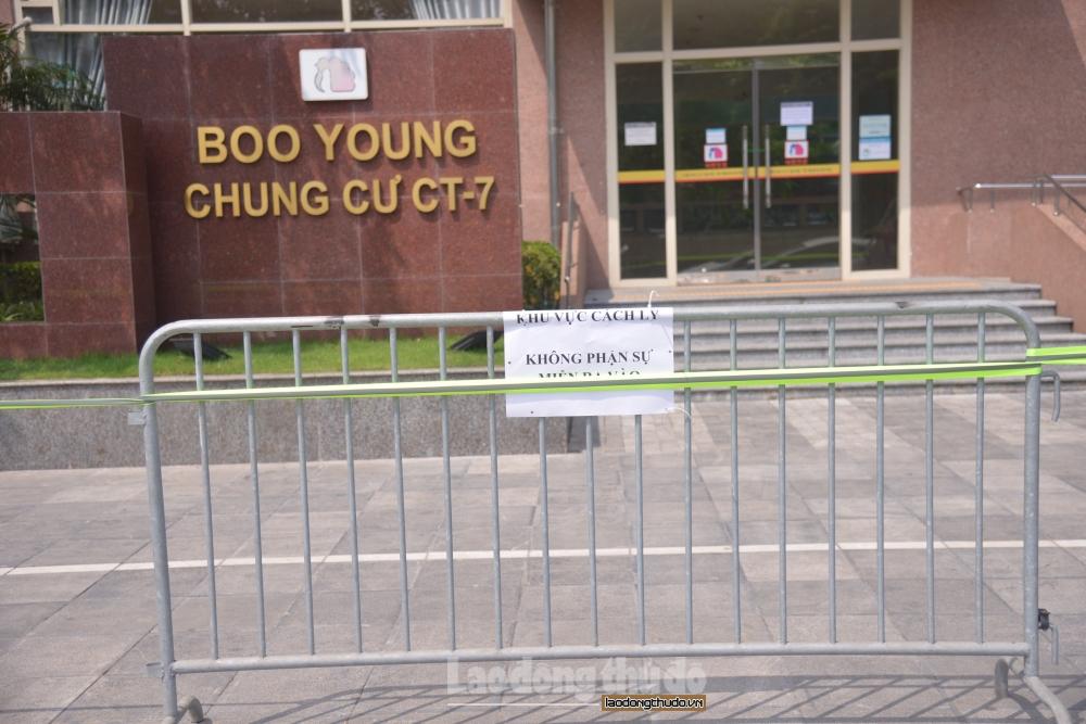 Hà Nội: Thêm 2 tòa nhà tại quận Hà Đông phải cách ly y tế