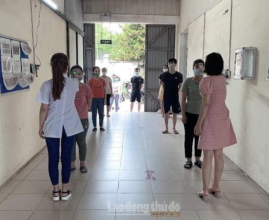 Công nhân, viên chức, lao động huyện Đan Phượng đồng lòng chống dịch
