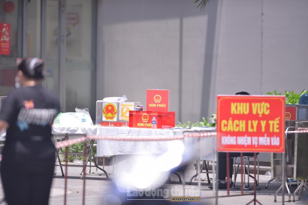 Hà Nội: Cách ly y tế tòa chung cư Park 11 khu đô thị Times City