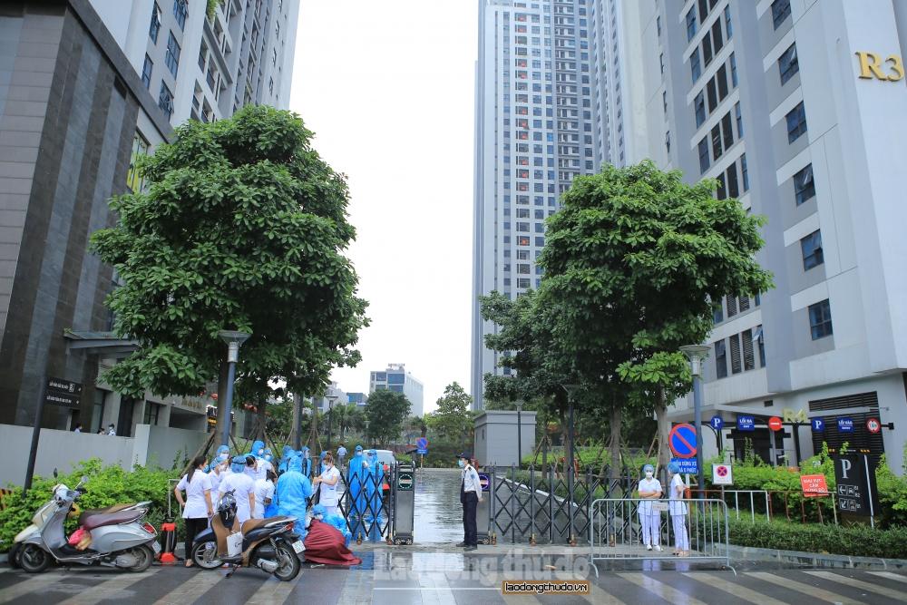 Hà Nội: Cách ly y tế 4 toà nhà ở khu đô thị Goldmark City liên quan đến ca nghi nhiễm Covid-19