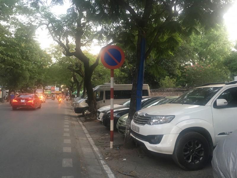 Vi phạm dừng, đỗ xe đang có dấu hiệu 'bùng phát' trở lại