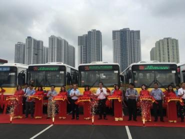 Thêm 2 tuyến xe buýt kết nối khu vực ngoại thành Hà Nội