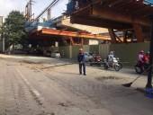 Báo cáo nhanh về sự cố rơi ống thép tại ga S7