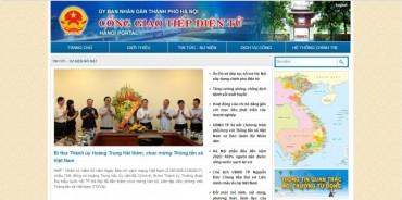 Cổng giao tiếp điện tử Hà Nội đón 67 triệu lượt truy cập