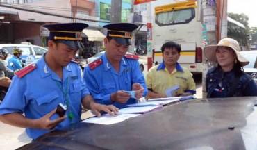 Xử phạt 177 trường hợp vi phạm kinh doanh vận tải hành khách