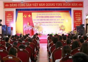 Đan Phượng tuyên dương khen thưởng 141 học sinh giỏi tiêu biểu