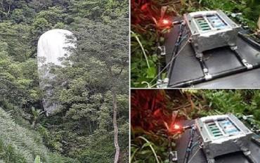 Kết luận ban đầu về vật thể lạ rơi xuống rừng Hà Giang