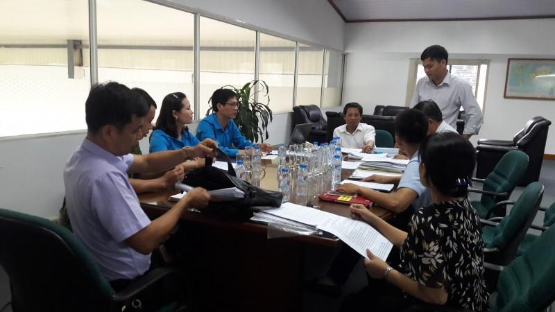 Kiểm tra việc thực hiện pháp luật tại Công ty TNHH Hà Đông – Việt Nam