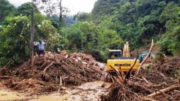 Lai Châu vẫn còn 9 người mất tích do mưa lũ