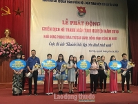Tuổi trẻ khối các cơ quan thành phố Hà Nội hưởng ứng chiến dịch tình nguyện hè 2019