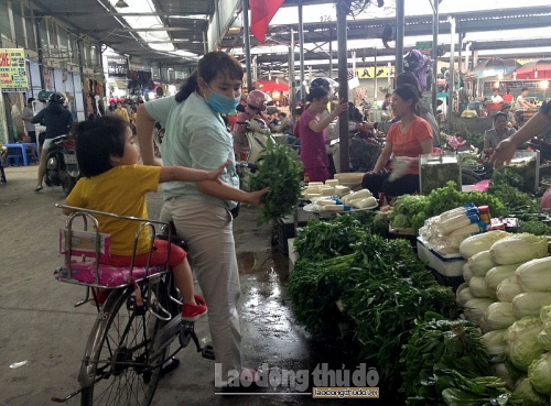 Hà Nội phấn đấu xây dựng thêm 6 chợ đầu mối cấp vùng