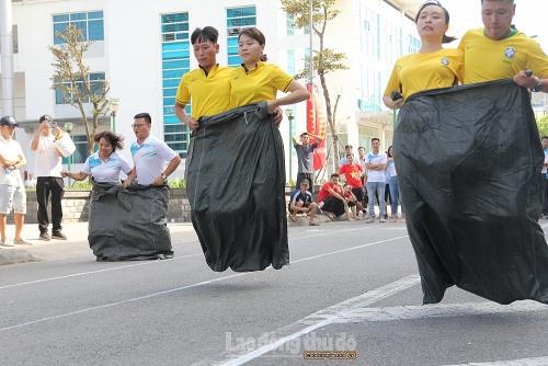 Sôi nổi Ngày hội Thể thao công nhân viên chức lao động huyện Hoài Đức năm 2020