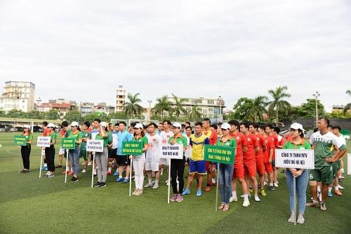 Urenco Hà Nội: Khai mạc giải bóng đá cụm thi đua số 21