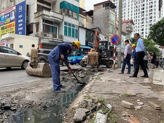 Hà Nội: Bảo đảm tính đồng bộ của hệ thống thoát nước