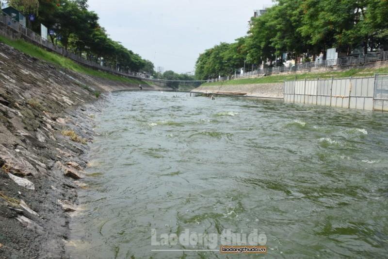 Tư vấn Nhật đã được thông báo về việc xả nước vào sông Tô Lịch