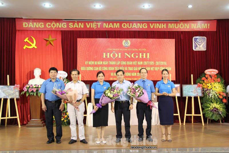 Vinh danh 90 gương cán bộ công đoàn tiêu biểu ngành Xây dựng Hà Nội