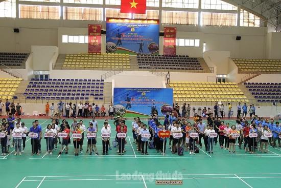 Tưng bừng Ngày hội văn hóa thể thao công nhân viên chức lao động huyện Hoài Đức năm 2020