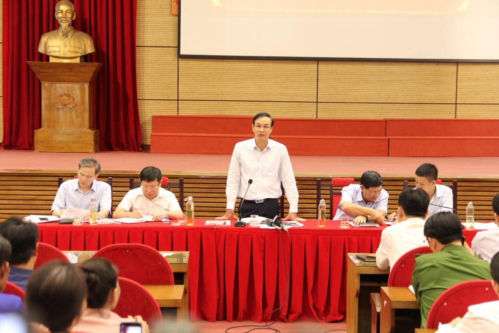 Hà Nội: Giải quyết thấu đáo các kiến nghị chính đáng của người dân Hồng Kỳ, Nam Sơn trong tháng 7/2020.