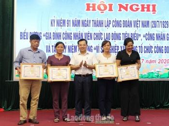 Liên đoàn Lao động huyện Phú Xuyên kỷ niệm 91 năm Ngày thành lập Công đoàn Việt Nam