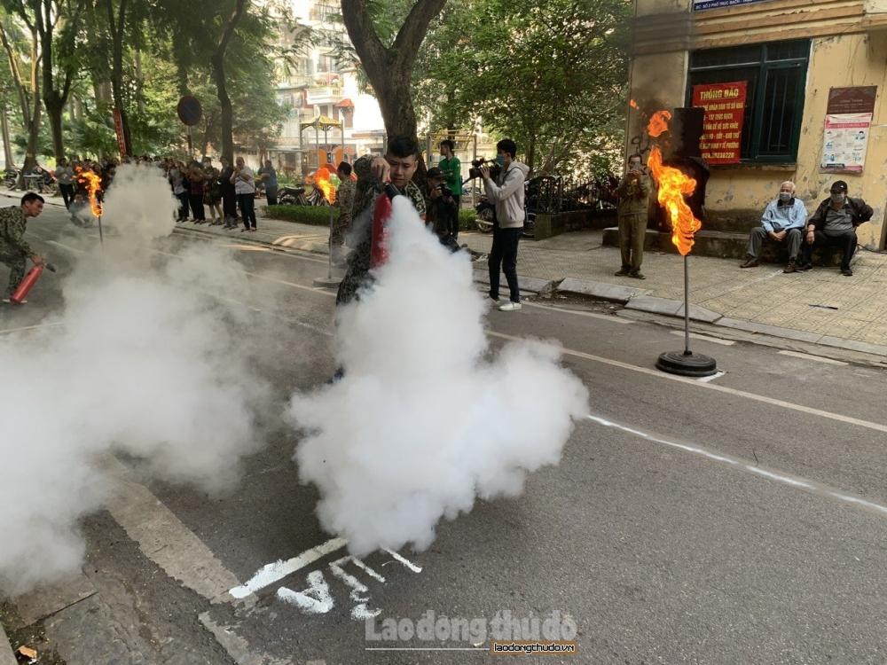 """Quận Ba Đình: Hiệu quả từ mô hình """"Toàn dân tham gia phòng cháy chữa cháy"""""""