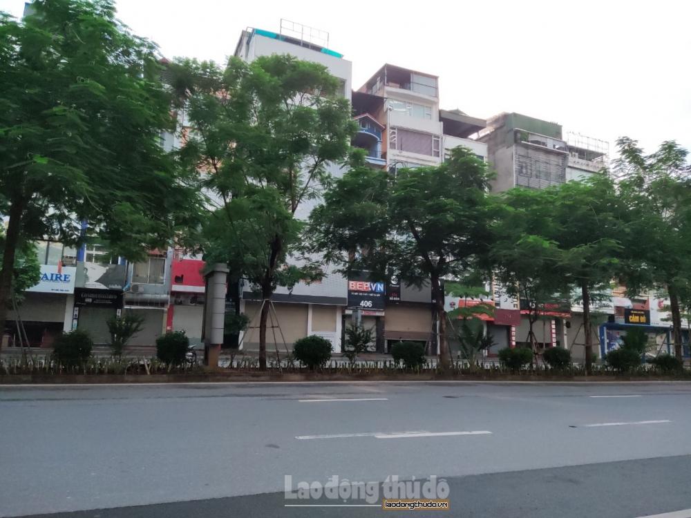 [Ảnh] Hà Nội ngày đầu giãn cách xã hội: Người dân nghiêm túc thực hiện