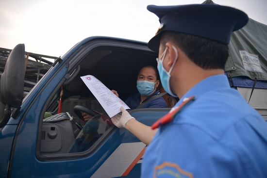 Không kiểm tra các phương tiện có Giấy nhận diện QR Code