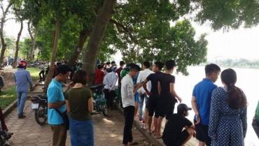 Phát hiện thi thể người phụ nữ trên hồ Linh Đàm