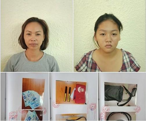 Bắt 2 đối tượng chuyên trộm cắp của người nước ngoài