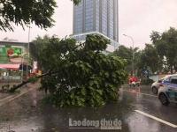 Bão số 3 gây mưa lớn, Hà Nội xuất hiện nhiều điểm ngập nhẹ