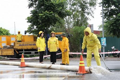 Hà Nội: Khẩn trương khắc phục hậu quả do bão số 3
