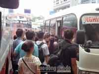 Tăng cường hơn 300 tuyến xe khách phục vụ nhân dân dịp nghỉ lễ 2/9